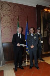 Gen.C.A. Luciano Carta e Prof. Carmine Gambardella