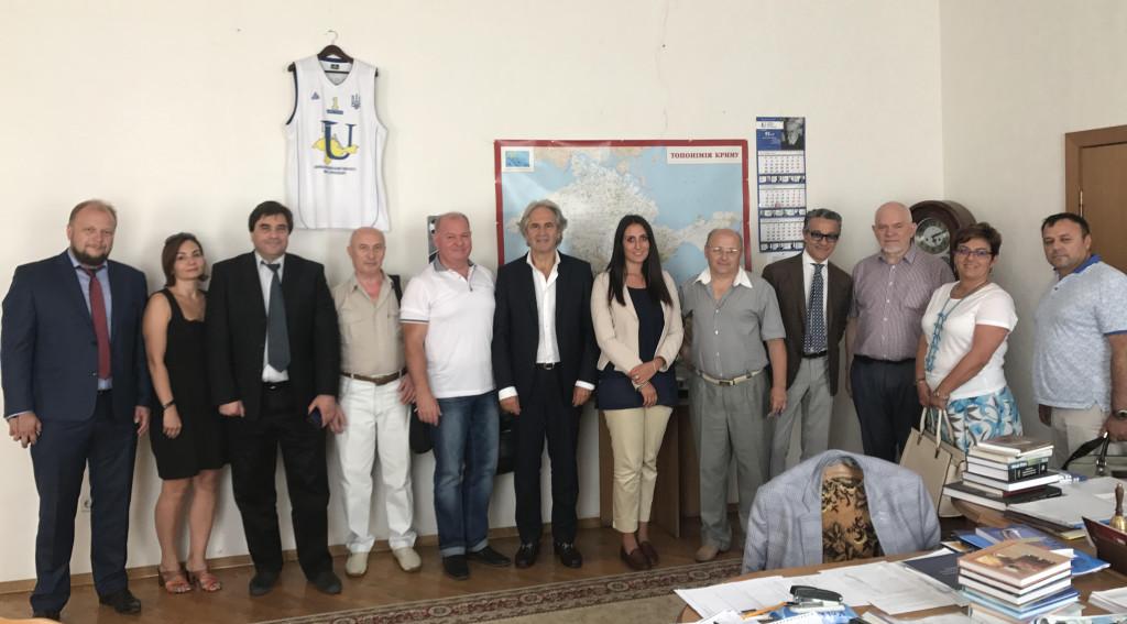 Missione congiunta Benecon Cattedra Unesco – Pegaso University in Ucraina
