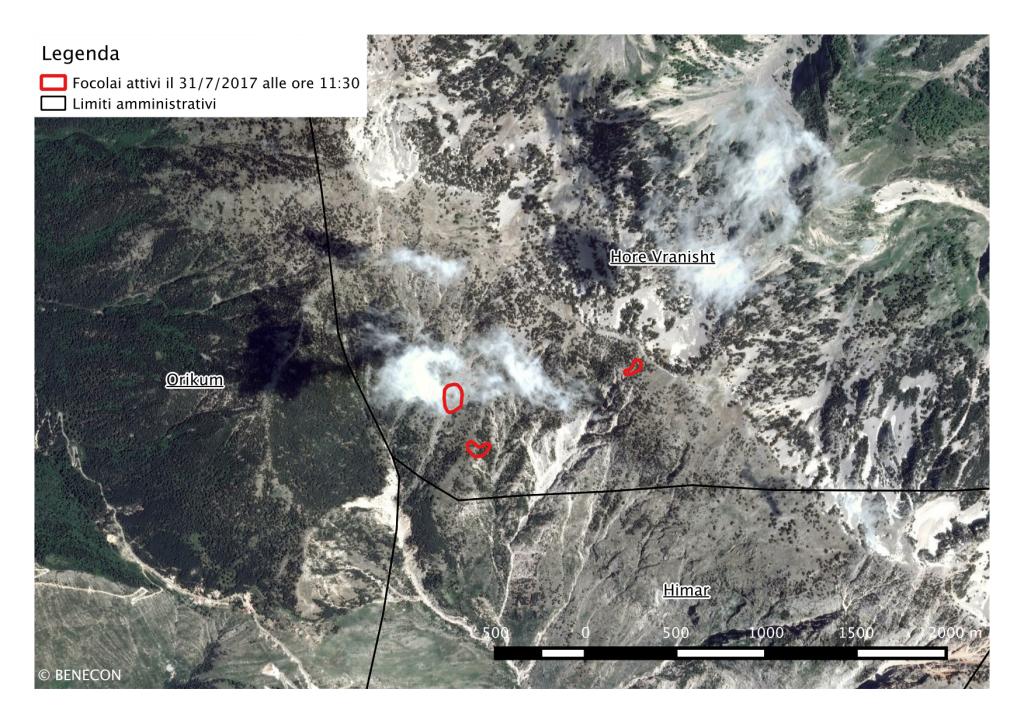 Incendi in Albania: Il supporto del centro BENECON al Governo Albanese