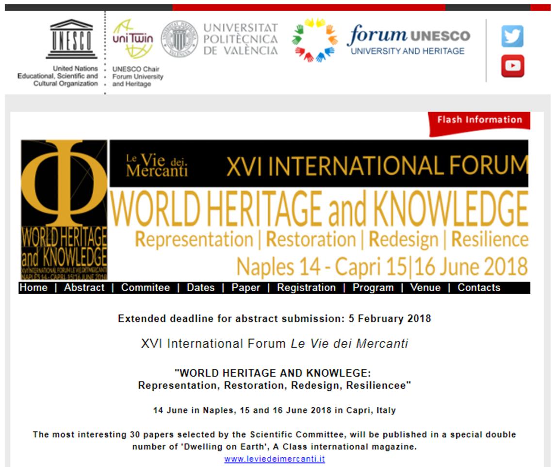 XVI Forum