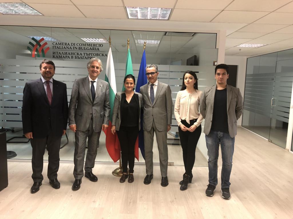 27 Aprile 2018 – Meeting a Sofia Benecon / Camera di Commercio Italiana in Bulgaria