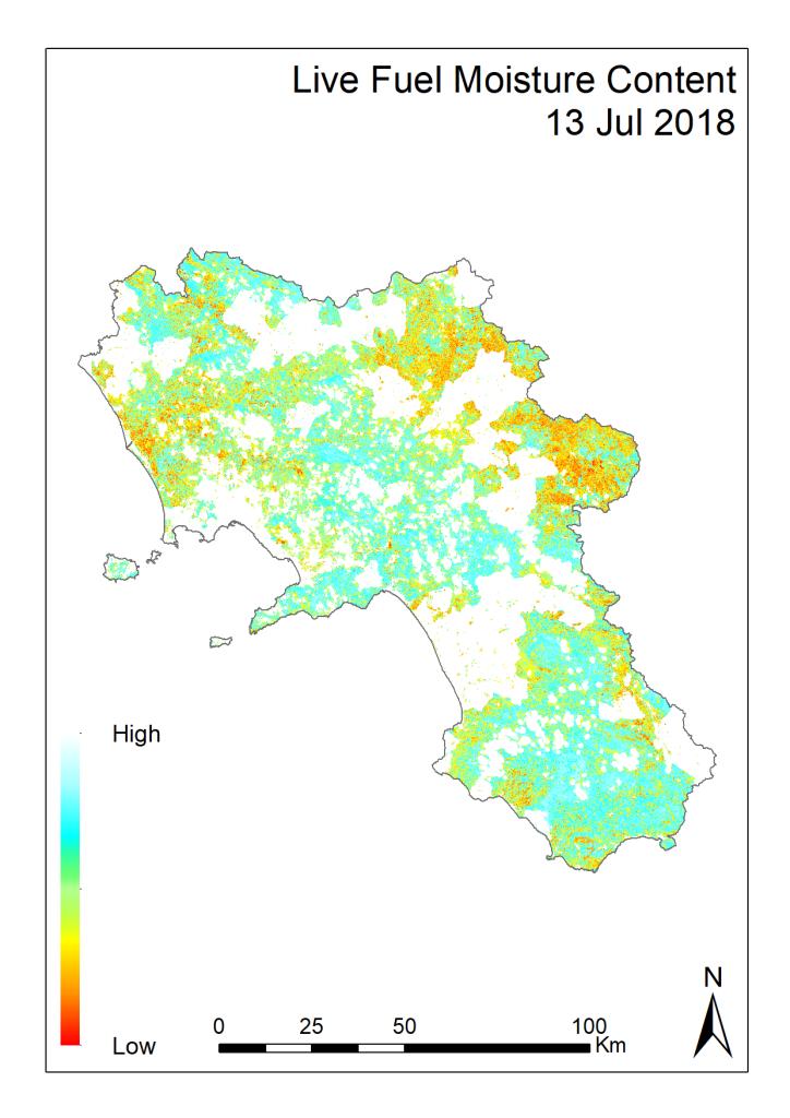 Il Benecon aggiorna la mappa di rischio incendi in Campania