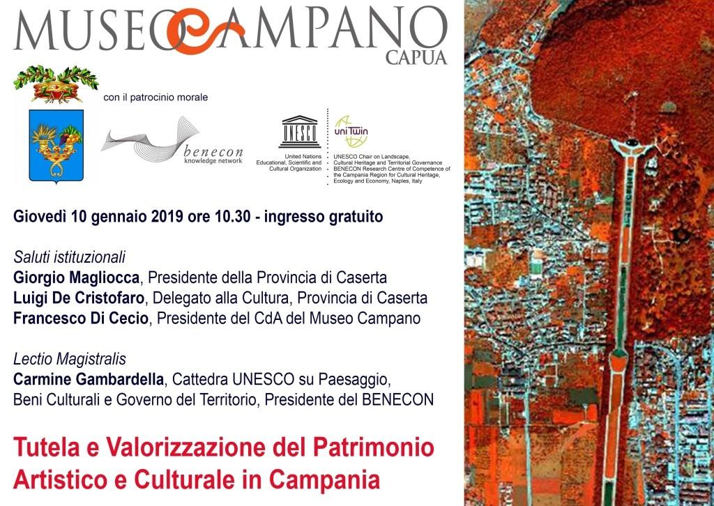 Lectio Magistralis del Prof. Carmine Gambardella al Museo Campano