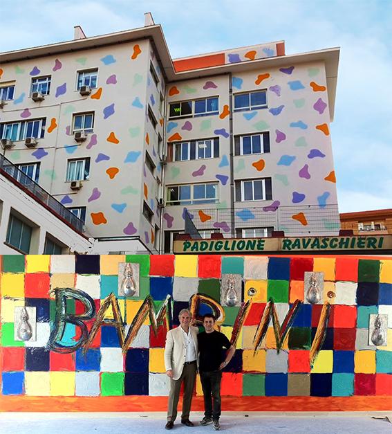 Carmine Gambardella e Lello Esposito, Urban Design con Anna Maria Minicucci per l'Ospedale A.O.R.N. Santobono-Pausilipon